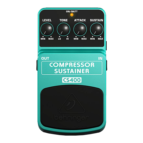 Behringer Compressor Sustainer CS400 Ultimate Dynamics Effects Pedal