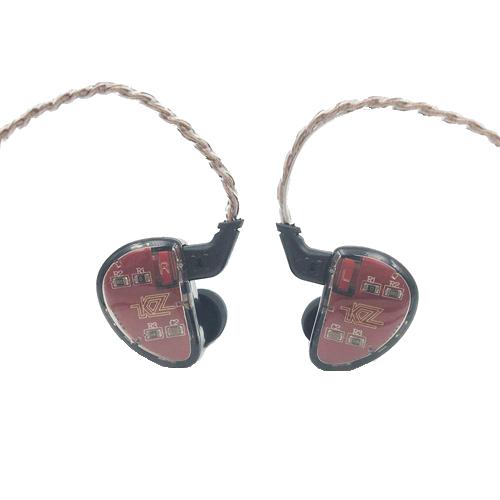 LINSOUL KZ AS10 5BA HiFi Stereo in-Ear Earphone High Resolution Earbud Headphone