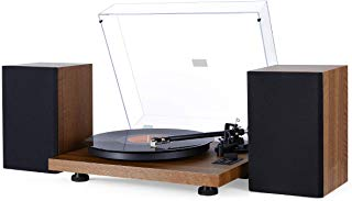 1byone Bluetooth Turntable Hi-Fi System